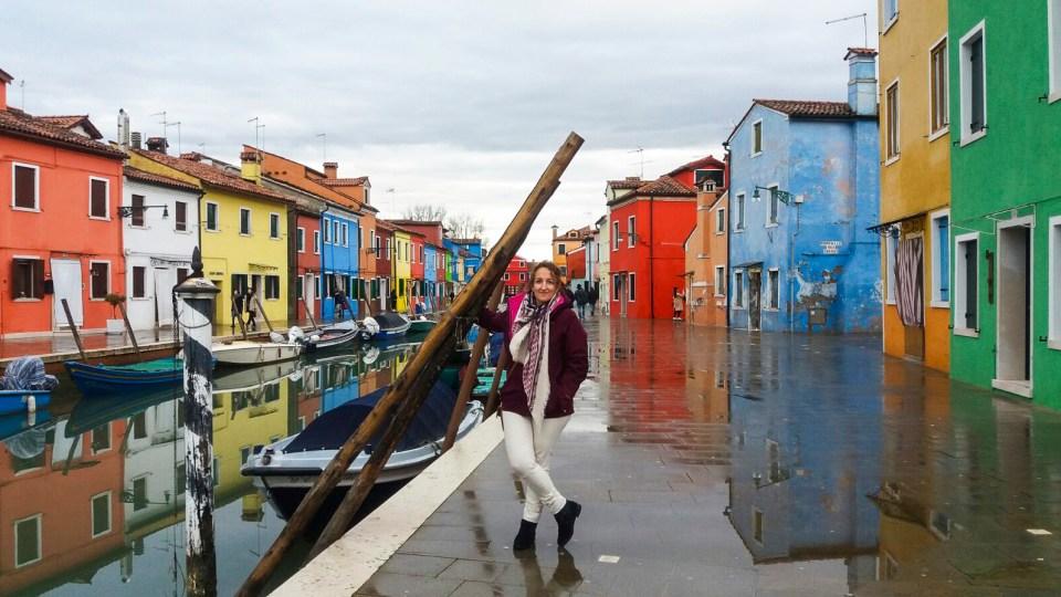 Foto en Burano, Italia