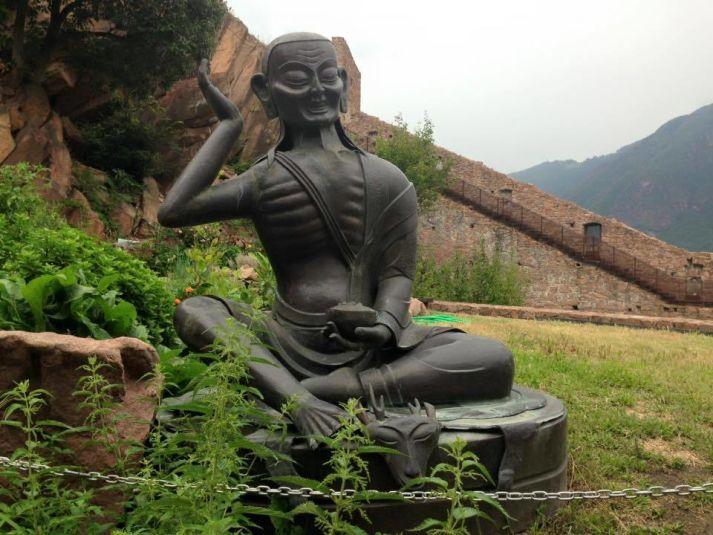 Statua di Manipura al Messner Mountain Museum