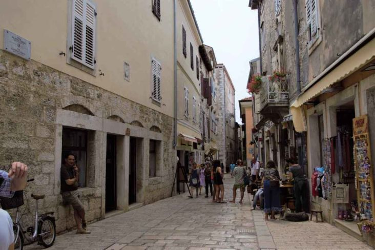 vie cittadine del centro storico