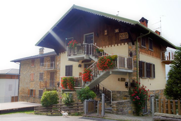 abitazione tipica montanara