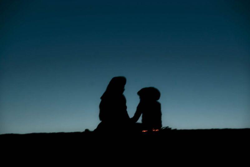 due ombre nel deserto