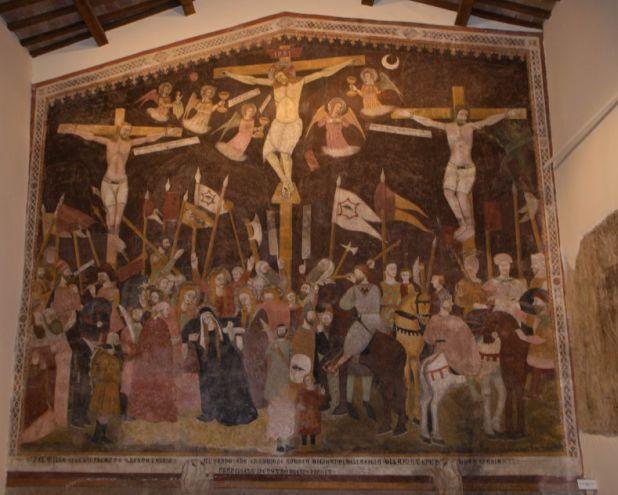 quadro crocifissione forse di raffaello