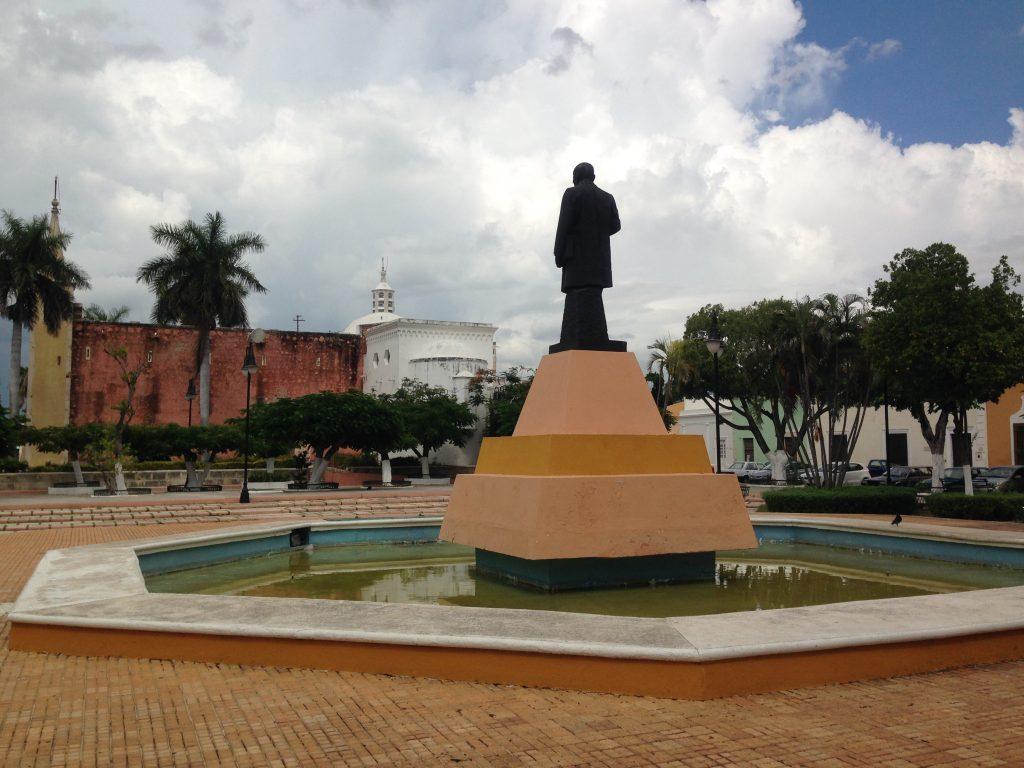 parco pubblico nella mérida yucateca