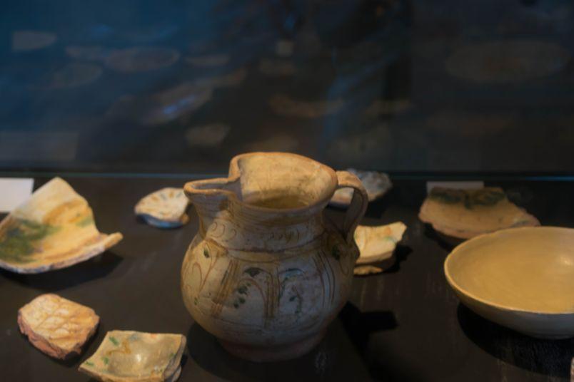 contenitore ritrovato negli scavi archeologici