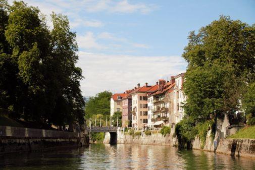 scorcio sulla capitale Lubiana la top 10 della Slovenia