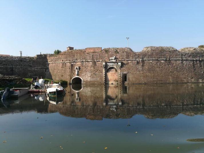 Padova antica: mura difensive lungo il Piovego