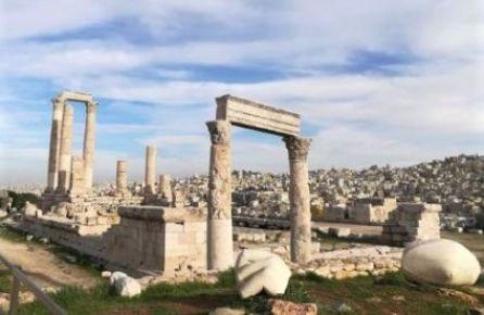 particolare della cittadella di Amman