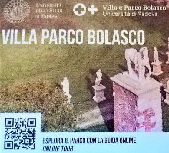 biglietto di entrata al giardino bolasco a castelfranco veneto
