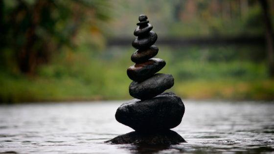 equilibrio con gli omini