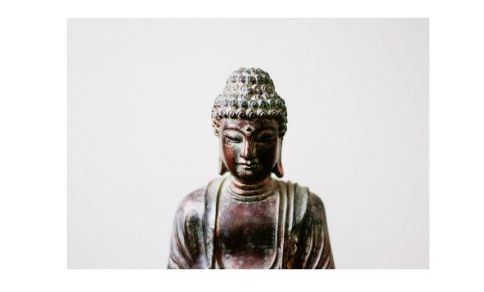 Foto del Buddha in metallo