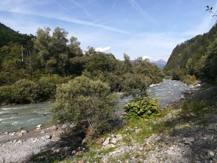 Vista sul fiume Drava