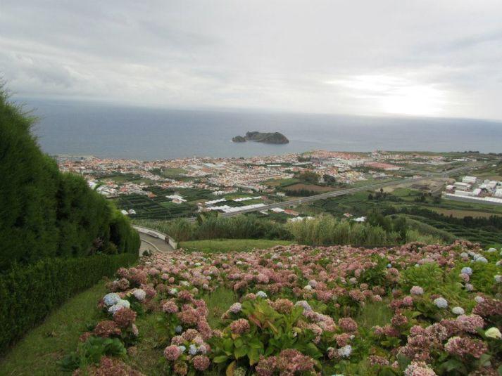 Veduta di Sao Miguel una delle isole azzorre