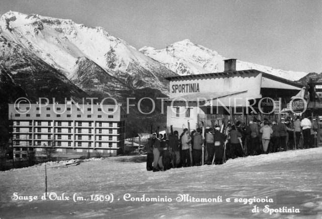 Foto storica Sauze d'Oulx