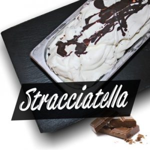 Stracciatella-Eis