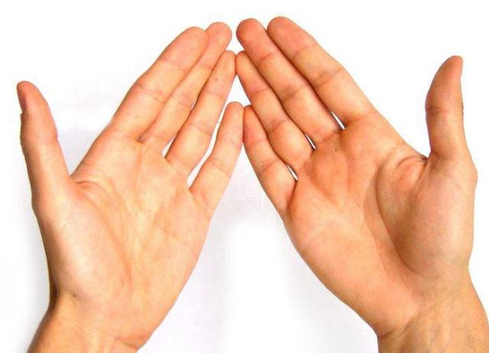 Image result for crvena linija na ruci od djeteta