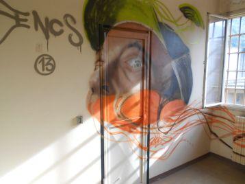 Street Art e Writing a Tirano nel'ex carcere mandamentale di Tirano 82