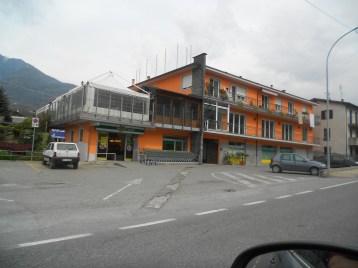 Il PAESAGGIO Valtellinese - la linea del cemento