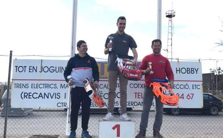Podio Campeonato Social GT Cerdanyola gt8 rc
