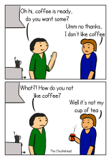coffee snub