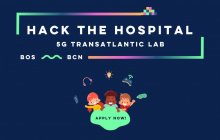 "Hackató ""Hack the Hospital - 5G Transatlantic Lab 2021"""