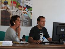 Foto del encuentro Grundtvig a Livorno