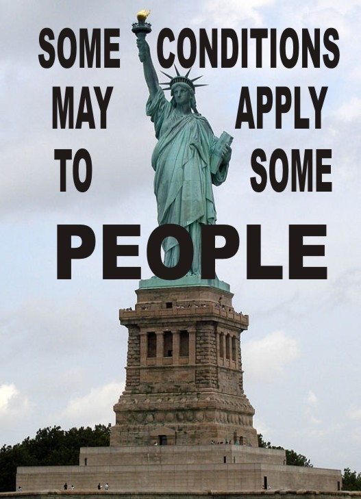 statue of liberty conditions