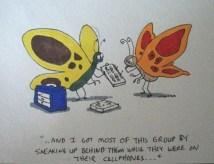 A bug-lovers' birthday card
