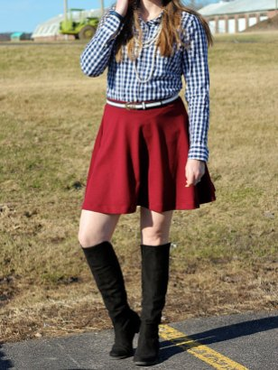 blue-gingham-top-marsala-circle-skirt3
