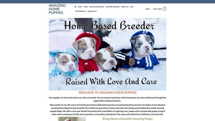Amazinghomepuppies.com - French Bulldog Puppy Scam Review