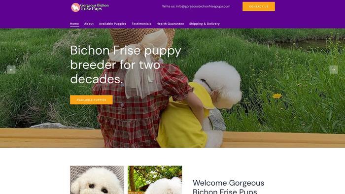 Gorgeousbichonfrisepups.com - Bichon Frise Puppy Scam Review