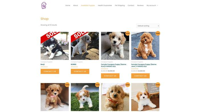 Adorablecavapoopuppy.com - Cavapoo Puppy Scam Review
