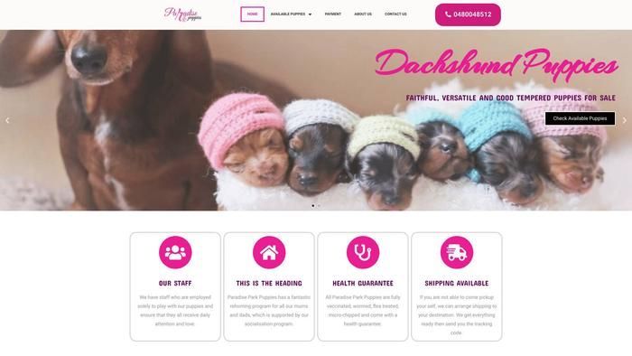 Paradiseparkpuppies.com - Dachshund Puppy Scam Review