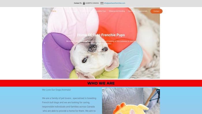 Pawhavenfrenchies.com - French Bulldog Puppy Scam Review