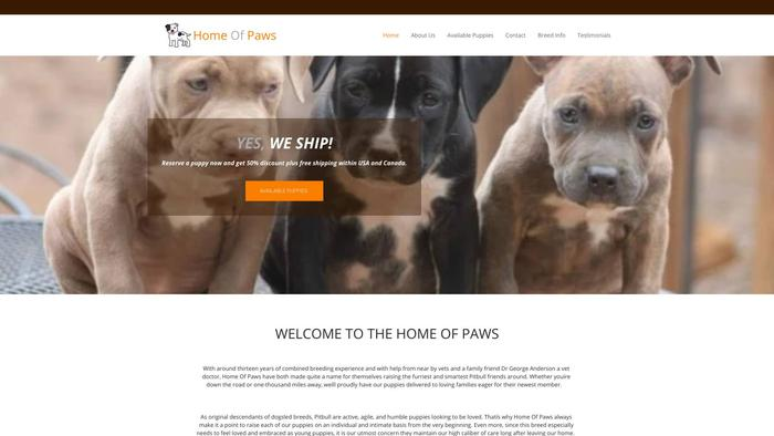 Uspawshome.com - Pit Bull Puppy Scam Review