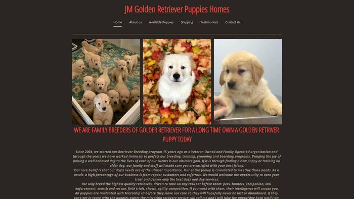 Jmgoldenretriever.com - Golden Retriever Puppy Scam Review