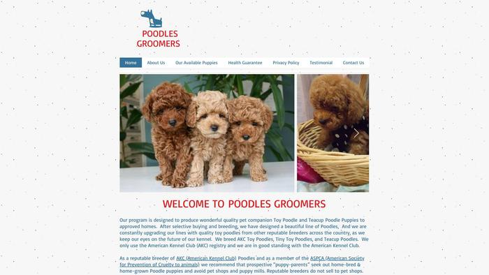 Poodles-family.online - Poodle Puppy Scam Review