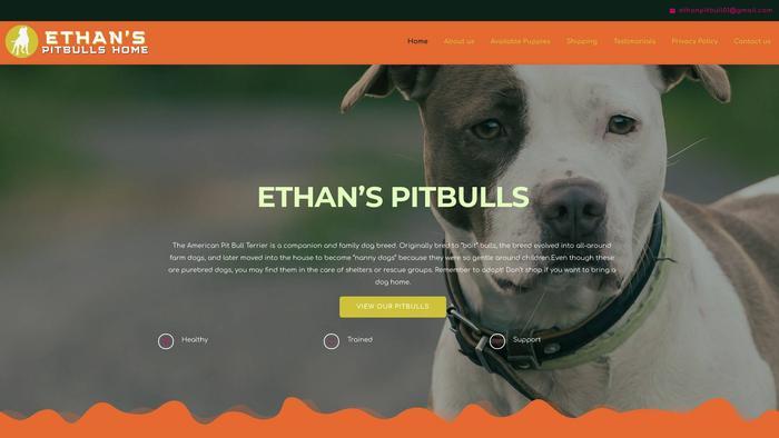 Ethanpitbull.com - Pit Bull Puppy Scam Review