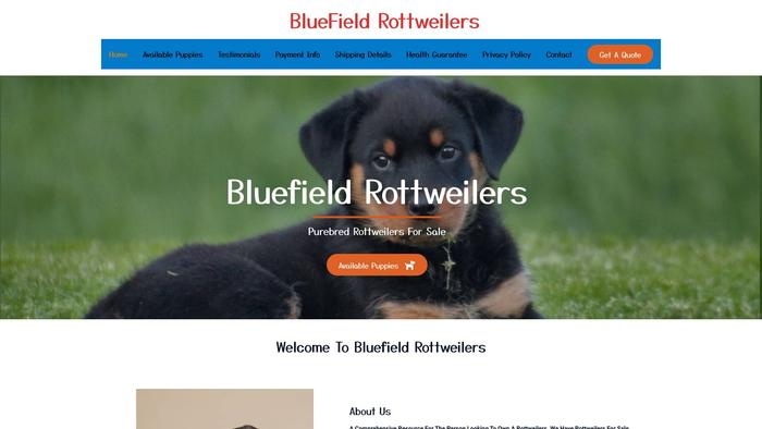 Bluefieldrottweilers.com - Rottweiler Puppy Scam Review