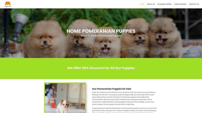 Homepomeranianpuppies.com - Pomeranian Puppy Scam Review