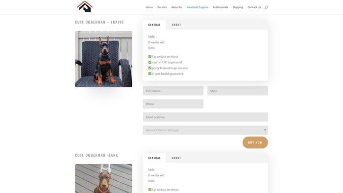 Johndobermanhome.com - Doberman Pinscher Puppy Scam Review
