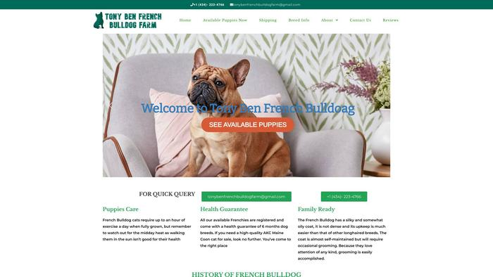 Tbfrenchbulldogfarm.com - French Bulldog Puppy Scam Review