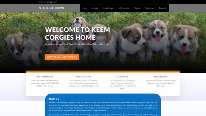 Keemcorgieshome.com - Corgi Puppy Scam Review