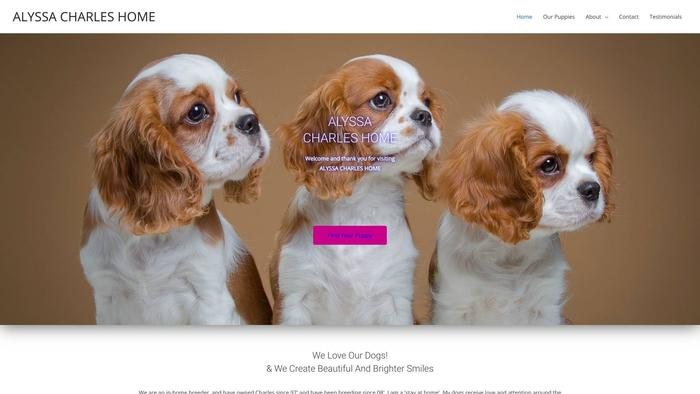 Alyssacharleshome.com - Cavalier King Charles Spaniel Puppy Scam Review