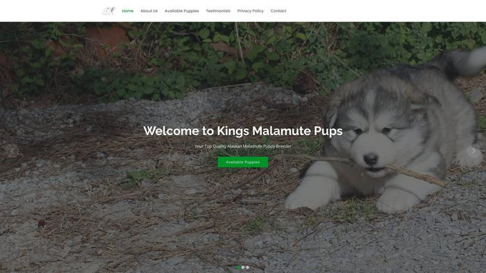 Kingsmalamutepups.com - Malamute Puppy Scam Review