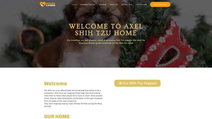 Axelshihtzus.com - Shihtzu Puppy Scam Review