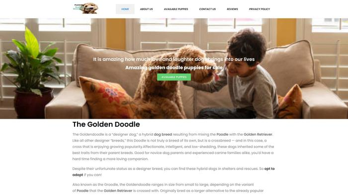 Familygoldendoodlehome.com - Golden Doodle Puppy Scam Review