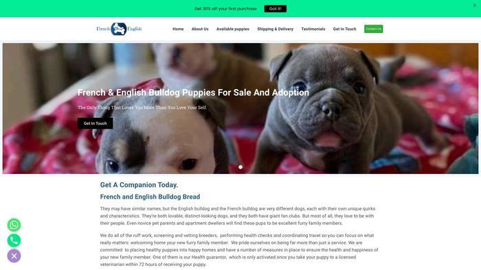 Frenchandenglishbulldogpup.com - English Bulldog Puppy Scam Review