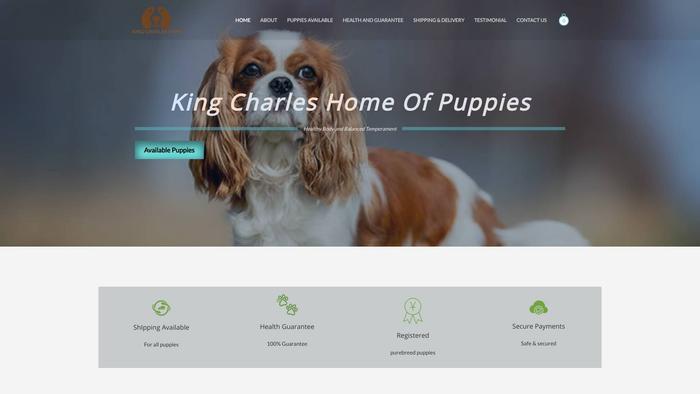 Kingcharleshome.com - Cavalier King Charles Spaniel Puppy Scam Review