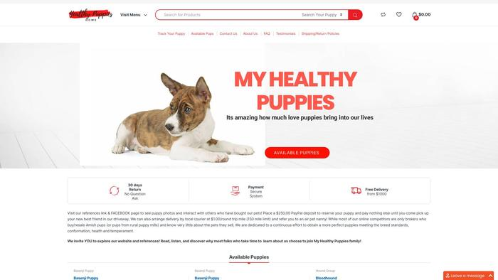 Myhealthypuppies.com - Yorkshire Terrier Puppy Scam Review