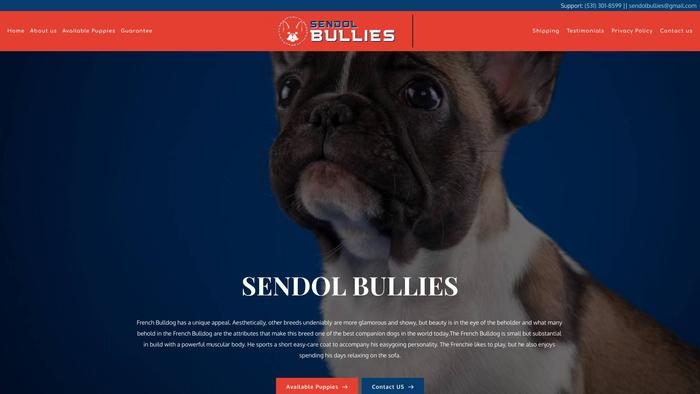 Sendolbullies.com - French Bulldog Puppy Scam Review